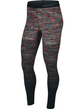 nike-womens-pro-hyperwarm-printed-tights by nike