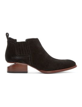 black-suede-kori-ankle-boots by alexander-wang