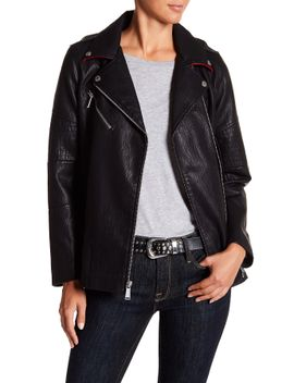 long-faux-leather-asymmetrical-zip-moto-jacket by bcbgeneration