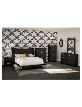step-one-platform-bed-with-drawers---south-shore by south-shore