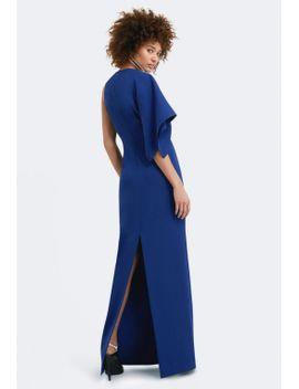 denise-one-sleeved-maxi-dress by aq_aq