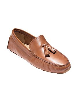 """cole-haan®-""""rodeo""""-tassel-driver-flats by bon-ton"""