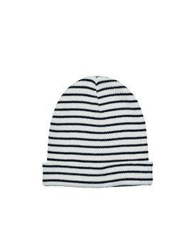 Knit Stripe Beanie With Cuff by San Diego Hat