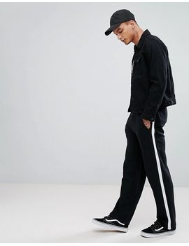 asos-straight-joggers-with-side-stripe-taping by asos