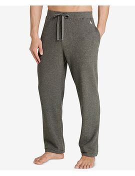 mens-waffle-knit-thermal-pajama-pants by polo-ralph-lauren