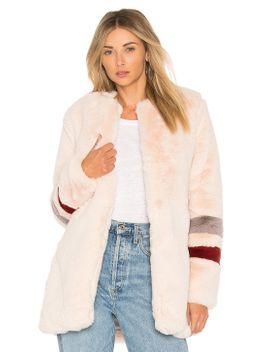 oakley-fax-fur-coat by lovers-+-friends
