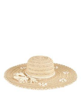 Womens Paperbraid W/ Shells by San Diego Hat