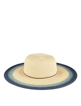 Womens Natural Sunbrim With Painted Color Prop by San Diego Hat