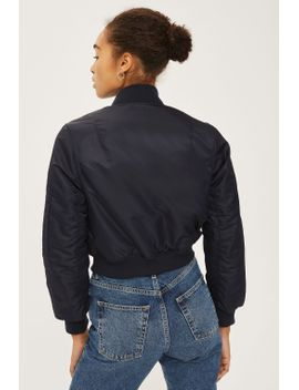 cropped-bomber-jacket by topshop