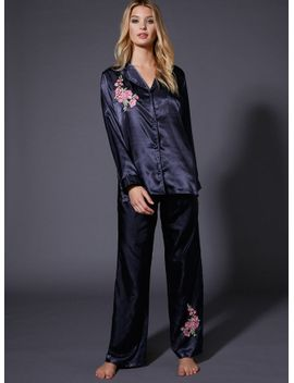 japanese-rose-embroidered-pants by bouxavenue