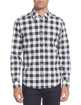 lance-regular-fit-buffalo-plaid-sport-shirt by boss
