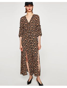 vestido-estampado-floral--midivestidos-mujer-new-collection by zara