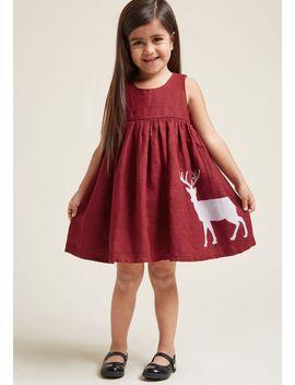palava-made-memorable-girls-dress-in-reindeer by palava