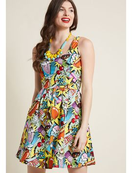 good-enough-to-eat-a-line-dress by retrolicious
