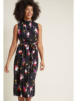 off-to-ottawa-midi-dress-in-black-floral by modcloth