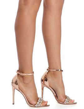 final-sale--rose-gold-rhinestone-strap-heels by windsor
