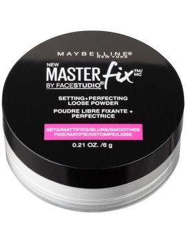 maybelline-facestudio-lasting-fix-setting-+-perfecting-loose-powder,-translucent,-021-oz by facestudio