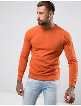 asos-sweatshirt-in-orange by asos