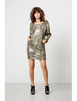 green-dress,-knit-dresses-for-women,-green-with-gold-dress,-mini-dress,-winter-dresses,-loose-dresses,-evening-wear by etsy