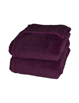 better-living-dobby-velvety-plush-blanket by better-living