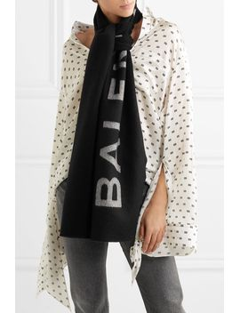 intarsia-cashmere-and-wool-blend-scarf by balenciaga
