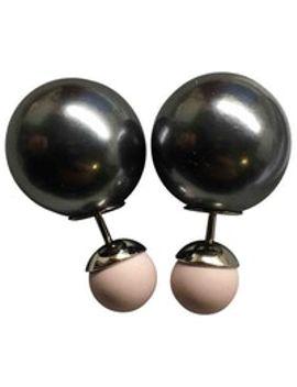 tribal-pearl-earrings by dior