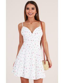 laid-back-dress-in-white-cherry-print by showpo-fashion