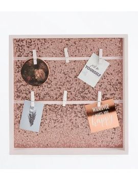 pink-sequin-peg-frame by new-look