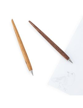 wooden-inkless-pen by uncommon-goods