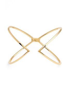 open-x-hinge-bracelet by nadri