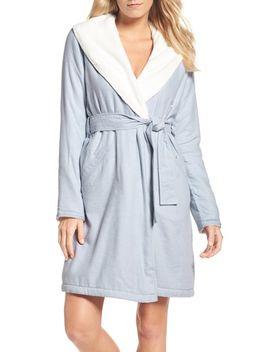 anika-herringbone-fleece-robe by ugg