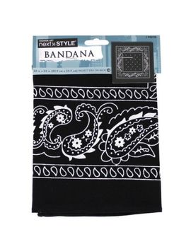 create-out-loud-black-paisley-single-bandana,-22-in-x-22-in by create-out-loud