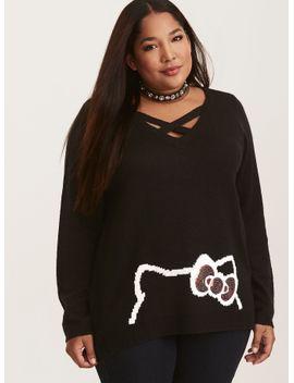 hello-kitty-crisscross-front-sweater by torrid