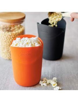 joseph-joseph-m-cuisine-microwave-single-serve-popcorn-maker,-set-of-2 by sur-la-table