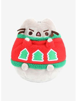 pusheen-holiday-sweater-plush by hot-topic
