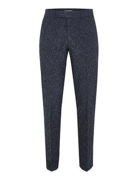 farah-navy-henderson-flek-suit-trousers by topman