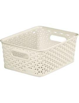 curver-8l-cream-basketcurver-8l-cream-basket by wilko