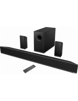 """51-channel-soundbar-system-with-6""""-wireless-subwoofer-and-digital-amplifier---black by vizio"""