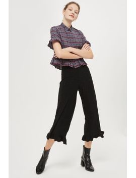 **glitter-frill-hem-trousers-by-nobodys-child by topshop