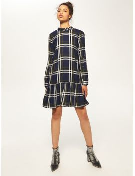 check-frill-dress by reserved