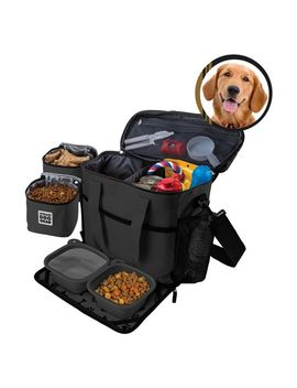 overland-dog-gear-travel-bag---week-away-bag-for-medium-&-large-dogs-with-2-food-carriers,-placemat-&-2-bowls by week-away-bag-for-medium-&-large-dogs-with-2-food-carriers,-placemat-&-2-bowls
