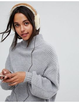 ugg-classic-wired-sheepskin-chestnut-earmuff-headphones by ugg