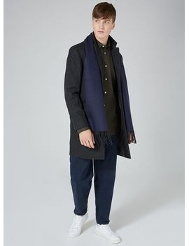 black-and-navy-scarf by topman