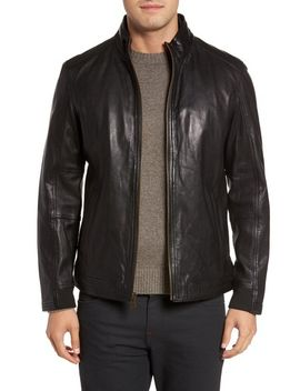 washed-leather-jacket by cole-haan