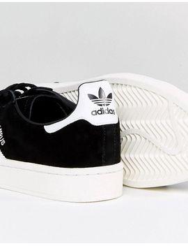 adidas-originals-campus-trainers-in-black-bz0084 by adidas-originals