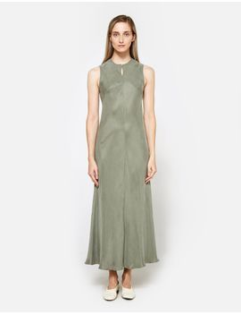 """calo-front-seam-sleeveless-a-line-dress by """"need-supply-co"""""""