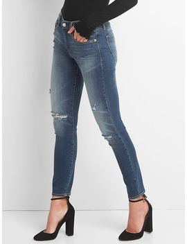 washwell-mid-rise-true-skinny-jeans-with-destruction by gap
