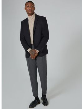 navy-blazer-with-wool by topman