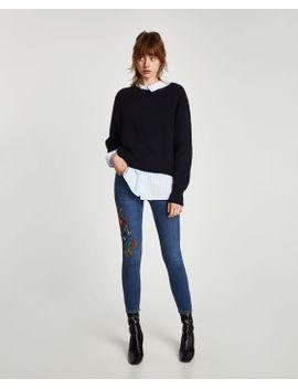 slim-fit-hi--rise-jeans- by zara