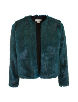 faux-fur-jacket-by-band-of-gypsies by topshop